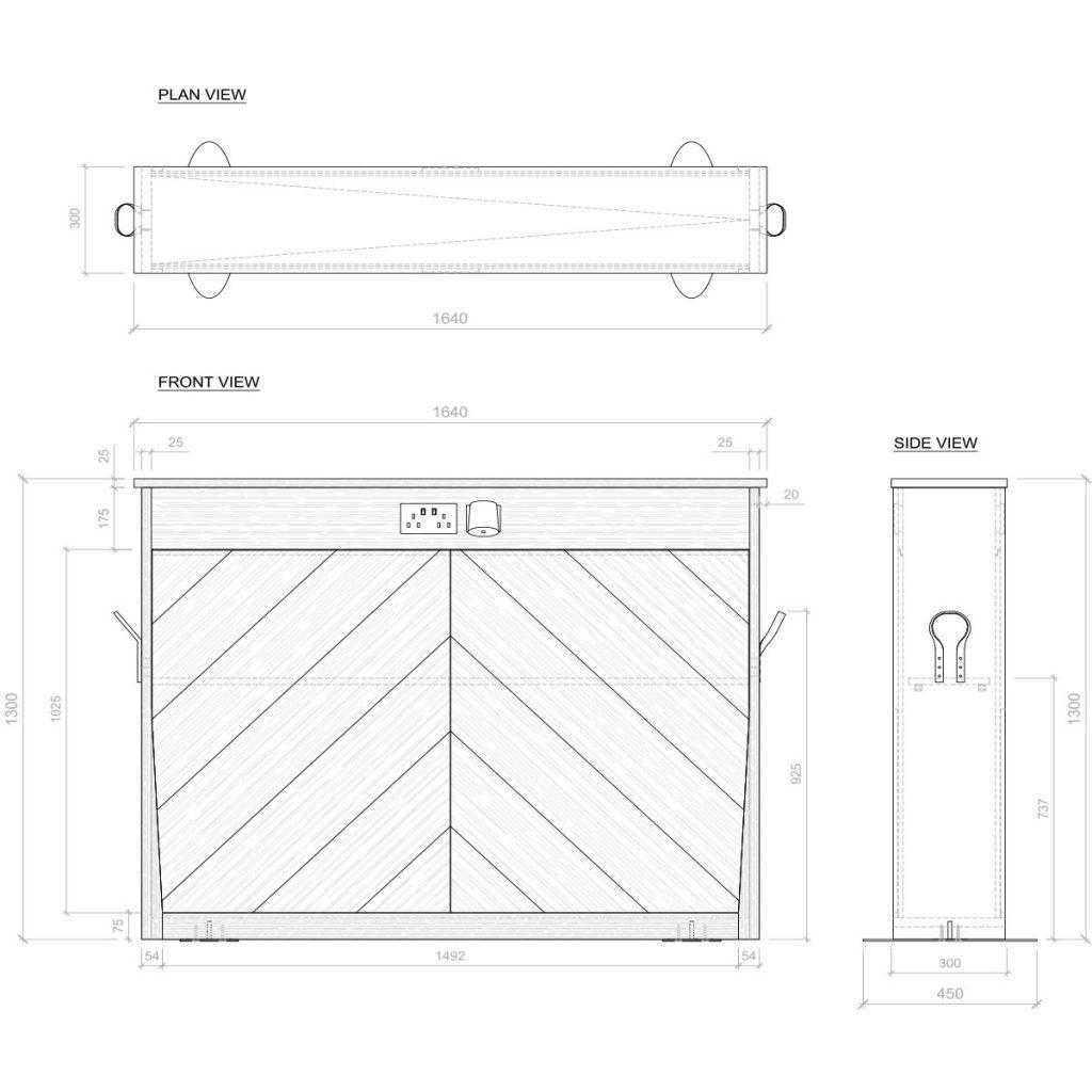 Porta Wall Screen